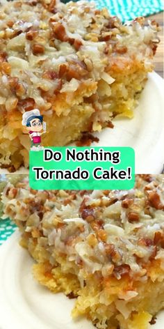 do nothing tornado cake! Chicken Stuffed Peppers, Spinach Stuffed Chicken, Real Food Recipes, Chicken Recipes, Healthy Recipes, Tornado Cake, Golden Mushroom Soup, Ice Cream Ingredients, Crushed Pineapple