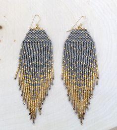 Matte Perlen und 24 k vergoldet gold Perlen sind eine perfekte zusammen! Die Matten Perlen wirklich markieren die goldene Flecken und machen sie