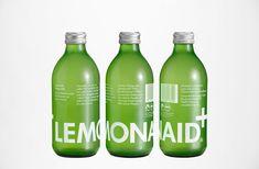 Lemonaid & Charitea / designed by BVD