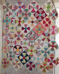 Steampunk quilt blocks