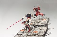 'COUNTER ATTACK' GBWC 2016 Korea Entry - Diorama Build     Modeled by coralblue76