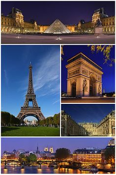 Paris is the most popular tourist destination in the world, with the most famous monuments such as the Eiffel Tower, Notre Dame Cathedral, the Champs Elysees, Arc de Triomphe, and others. It also has the most famous museum in the world- the Louvre. And a boat ride along the Seine is a must.  #monogramsvacation
