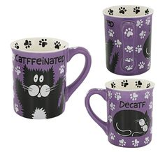Catffeinated Cat Mug at The Animal Rescue Site  WANT!!!!!!!!!!!!!!!!!!!!!!!!!!!!!!!!!!!!!!!!!!!!!!!