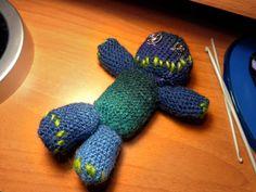 Crochet creepy puppet!