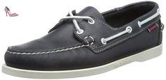 Sebago B72639 hommes Derbies Sombre, EU 43 - Chaussures sebago (*Partner-Link)