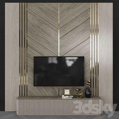 Tv Cabinet Design, Tv Unit Design, Tv Wall Design, Wood Design, Modern Master Bedroom, Master Bedroom Design, Tv Unit Decor, Modern Tv Wall, Wardrobe Door Designs