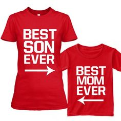 Mother Son Matching Shirts Mommy and Me by CustomPrimePrints
