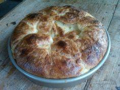 Maker's Mark Croissant Pudding -