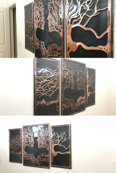 Modern wall and home decor. The dance of art with copper. Fully handmade copper designs. It will add beauty to your home. Office Wall Art, Office Walls, Copper Crafts, Modern Wall Decor, Handmade Copper, Home Crafts, Etsy Seller, Dance, Creative