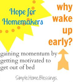 Why wake up early - one #mom's motivation to get up before her kids - #parenting