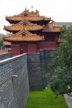 Dai Temple in Mount Tai, Tai'an, Shandong, China
