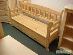 Deacon Bench with Storage | The Deacon's Bench blog by Deacon Greg Kandra