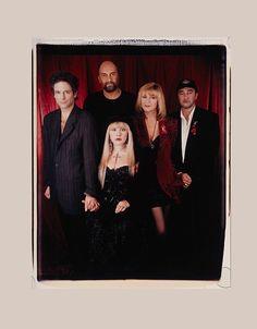 Fleetwood Mac photographed at the Bill Clinton Inauguration Gala on January 19, 1993.