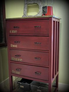 Red Hen Homes Narrow Cabin Dresser | Do It Yourself Home Projects from Ana White