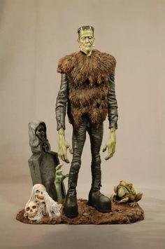 Jack Davis' Frankenstein resin model kit