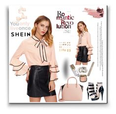 """""""shein 1"""" by selmabjelic ❤ liked on Polyvore featuring Ted Baker and Paolo Shoes"""