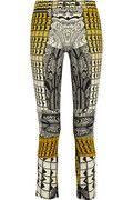 Etro Printed cropped crepe pants