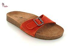 Haflinger 819012 Gina Mules femme, homme, schuhgröße_1:eur 41;Farbe:orange - Chaussures haflinger (*Partner-Link)