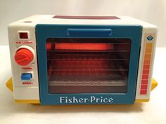 1987 Vintage Fisher Price Fun With Food Toaster by PepperMintRhino