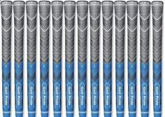 Golf Club Grips 47324: Authentic 13 Golf Pride Mcc Plus4 Golf Grips Midsize Blue Free Shipping -> BUY IT NOW ONLY: $117.95 on eBay!