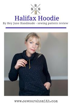 Halifax Hoodie Sewing Pattern Review