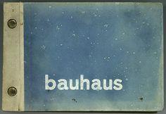 Musterbuch für Bauhaus-Tapeten der Firma Rasch, Bramsche bei Osnabrück: bauhaus, 1930