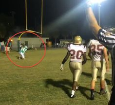 He Bent Down to Thank God for His First-Ever High School Touchdown — but It Cost His Team Dearly Nov. 3, 2014 10:51amBilly Hallowell