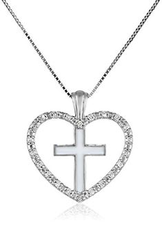 18-Inch Rhodium Plated Necklace with 4mm Jet Birthstone Beads and Sterling Silver Saint Edwin Charm.