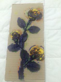 """Flower Plate."" Choi. 2015. Printmaking"