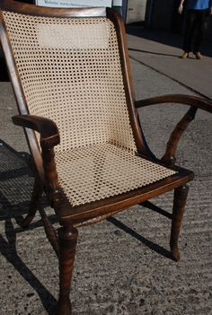 Chair caning                                           By Christy Antiques