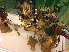 The Lego 'Ewok Village'