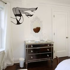 burlesque legs wall decal by beepart, i want this so bad for my new bedroom!