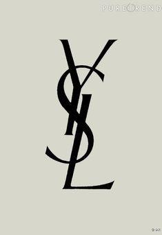 Le logo YSL par Cassandre | #logo