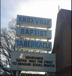 """Spreading the Gospel: Women and People of Color and LBGT be on notice from this church. or as Animal Farm: """"all animals are created equal but some more equal than other""""."""