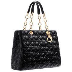 Black Christian Dior Dior Soft Handbag
