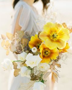 Color Pop Bouquet Bridal Bouquet With Yellow Flowers Bouquet With Tulips White And Yellow Bouquet Kelli Wellman Wedding Sparrow Yellow Wedding Flowers, Yellow Flowers, Floral Wedding, Wedding Colors, Wedding Ideas, Yellow White Wedding, Wedding Inspiration, Wedding Flower Arrangements, Wedding Bouquets