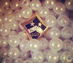 Kappa Alpha Theta badge #theta1870