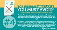 Some mistakes you should avoid doing! #resume #tips #seekcareerz