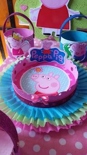 Pepper Pig Party Ideas, Fiestas Peppa Pig, Papa Pig, George Pig, Bday Girl, 2nd Birthday, First Birthdays, Party Themes, Mary