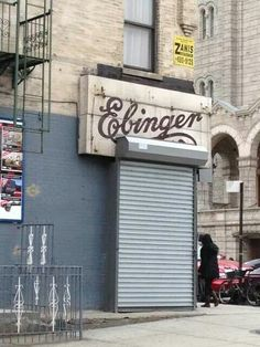 Ebinger sign discovered after being hidden all these years! -- 5th Avenue & 60th Street, Brooklyn NY