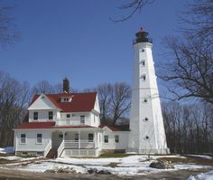 North Point Lighthouse in Milwaukee, WI.  Whowouldathoughtit?