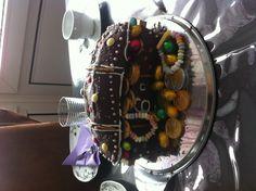 Kuchen als Schatztruhe