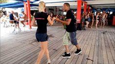 Salsa dance 18 weeks pregnant!
