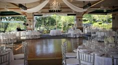 This Wedding sparkled with crystal and rhinestone accents all on a pallet of white and silver. /Weddings / Weddings & Events / Coto de Caza Golf & Racquet Club