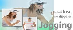 You can now run without fear of losing your precious sunglasses. Losing You, Jogging, Baseball Cap, Running, How To Wear, Canada, Sunglasses, Sports, Fashion