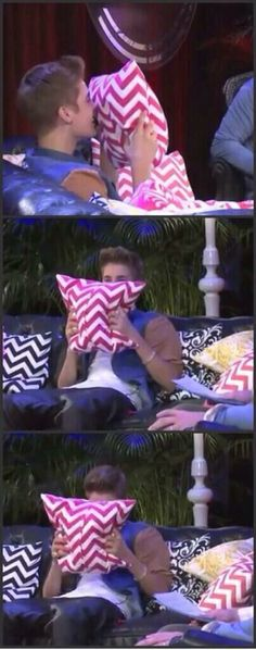 CUTEST part of any interview he has ever done. That little laugh he couldn't contain, oh my...he's so adorable