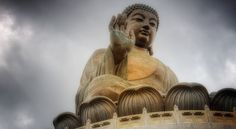 Estatua de Tian Tan Buda en Hong Kong
