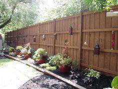 After Backyard Fence
