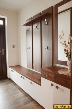entryway system modern built in front hall with bench storage hooks shelves and . entryway system modern built in front hall with bench storage hooks shelves and mirror systems leed Home Entrance Decor, House Entrance, Entryway Decor, Home Decor, Entrance Halls, Entryway Ideas, Closet Designs, Hallway Designs, Armoire Entree