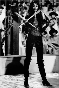 Donyale Luna at the Rock n Roll Circus (1968)